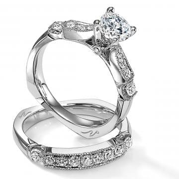 Diamond Bridal Set